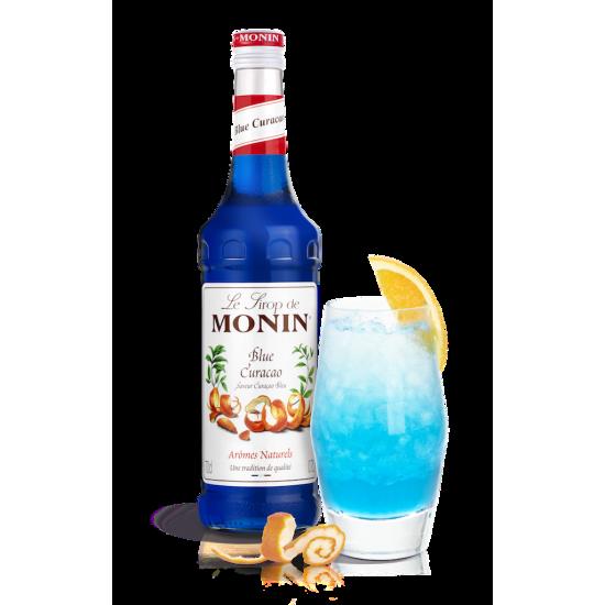 Monin Curacao Modré/Blue...