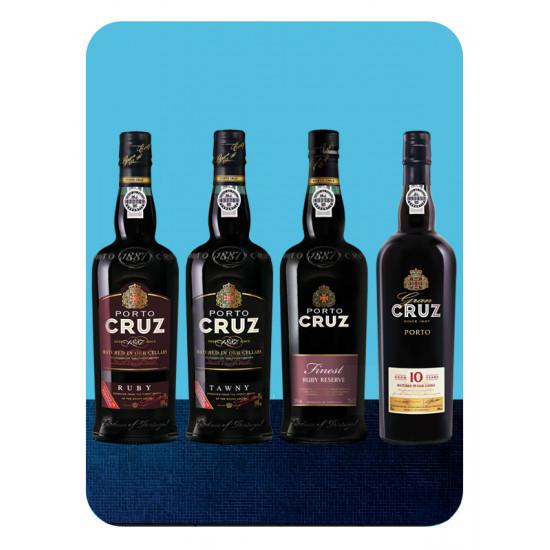 4 druhy Porto CRUZ - 4...