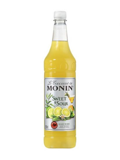Monin Sweet & Sour 1 L PET - 1