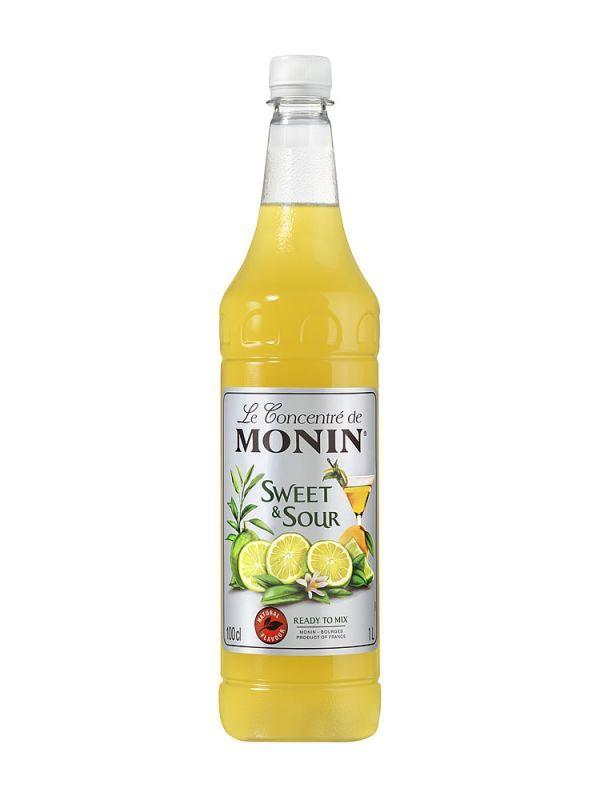 Monin Sweet & Sour 1 L PET - 1