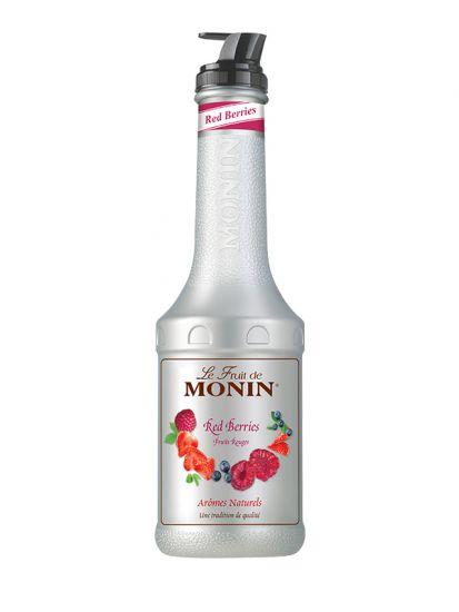 Monin pyré Červené plody/Red Berries 1 L - jen v červnu za 246,-Kč (běžně 308,-) - 1