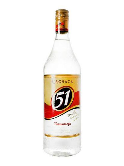 Cachaca 51 Pirassununga 40% 1 L - 1