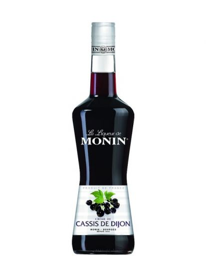 Cassis de Dijon 16% - černorybízový likér 0,7 L - 1