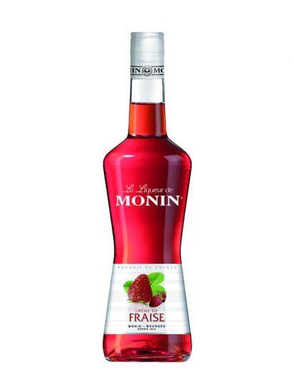 Monin Fraise Liqueur  18% likér 0,7 L - 1