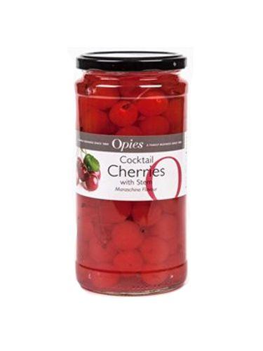 Red Maraschino třešně se stopkou 950 g - 1
