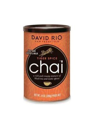 David Rio Tiger Spice Chai - dóza 398 g + oranžový tygří hrnek jako DÁREK - 2