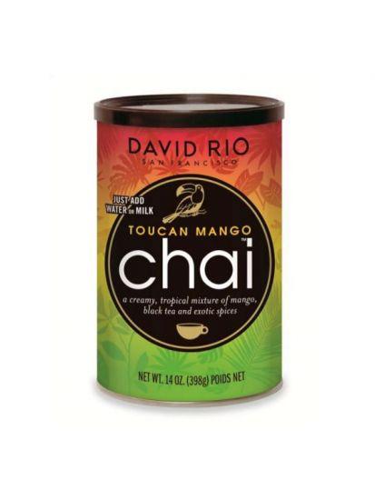 David Rio Toucan Mango Chai - dóza 398 g + bateriový napěňovač mléka jako DÁREK - 2