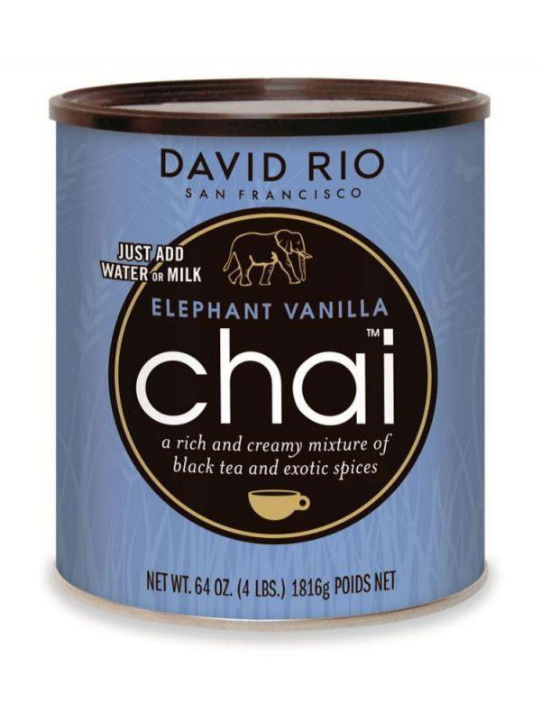 David Rio Elephant Vanilla Chai - gastro dóza 1814 g - 1