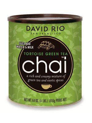 David Rio Tortoise Green Tea Chai - gastro dóza 1814 g - 1