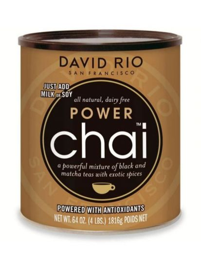 David Rio Power Chai Matcha - gastro dóza 1814 g - 1