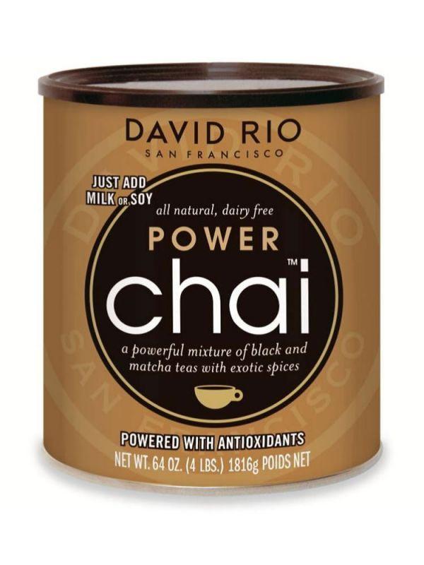David Rio Power Chai Matcha - gastro dóza 1814 g - 1