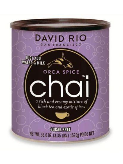 David Rio Orca Spice Sugarfree Chai - bez cukru - gastro dóza 1520 g - 1