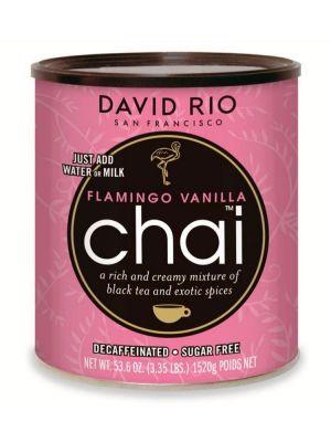 David Rio Flamingo Vanilla Sugarfree Chai - bez kofeinu a cukru - gastro dóza 1520 g - 1