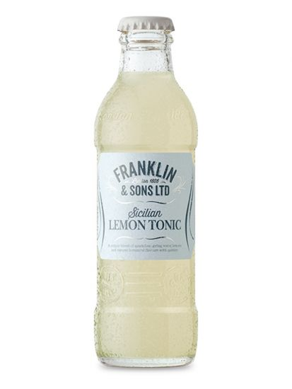 Franklin & Sons Sicilian Lemon Tonic Water 0,20 L - 1