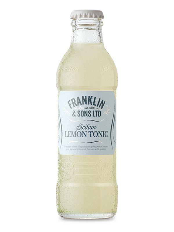 Franklin & Sons Sicilian Lemon Tonic Water 0,20 L - 1