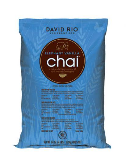 David Rio Elephant Vanilla Chai - gastro náplň / vak 1814 g - 1
