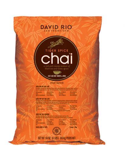 David Rio Tiger Spice Chai - Gastro náplň / vak 1814 g - 1