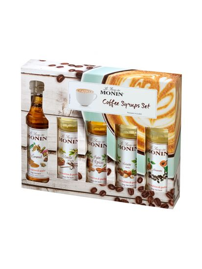 Monin Coffee box MINI 5 x 50 ML - 1