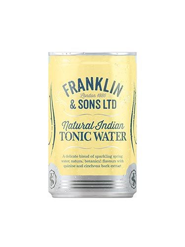 Franklin & Sons Natural Indian Tonic Water - plech 0,15 L - 1