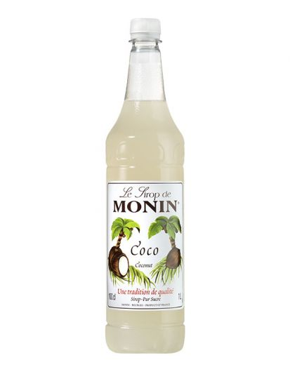 Monin Kokos / Coco / Coconut 1 L PET - 1