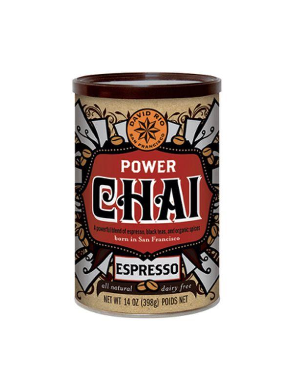 David Rio Power Chai Espresso - dóza 398 g + bateriový napěňovač mléka jako DÁREK - 2