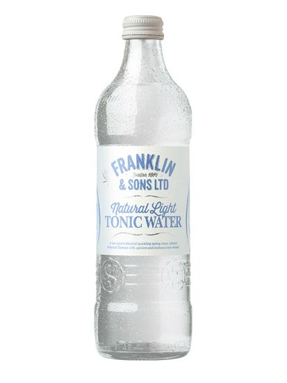 Franklin & Sons Natural Light Tonic Water 0,50 L - 1
