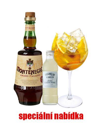 AKCE: 2x Amaro Montenegro 23 % 0,7 L + 24x Franklin & Sons Sicilian Lemon Tonic Water ZDARMA - 1