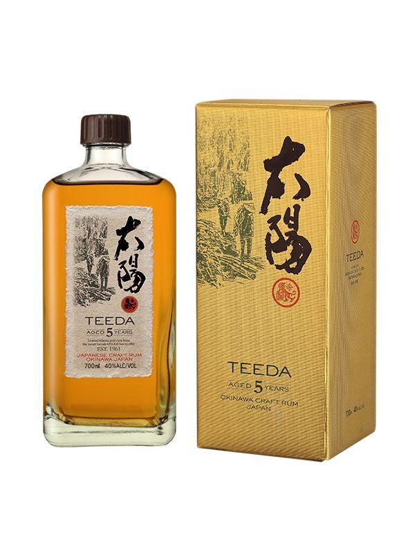 Teeda rum 5y.o. 40% 0,7 L - 1