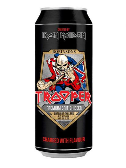 Iron Maiden Trooper 4,7% - 0,5 L PLECH - 1