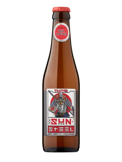 Iron Maiden's Sun and Steel Sake lager 4,8% - 0,33 L - 1