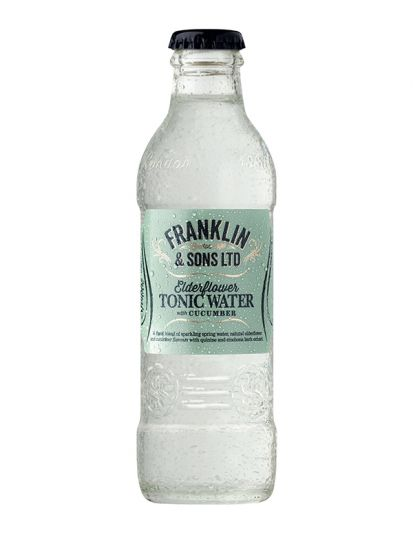 Franklin & Sons Elderflower & Cucumber Tonic Water 0,20 L - 1