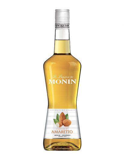 Monin Amaretto Liqueur 28% - ovocný likér s mandlemi 0,7 L - 1