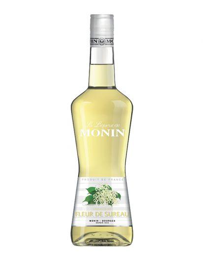 Monin Elderflower 20% - bezový likér 0,7 L - 1