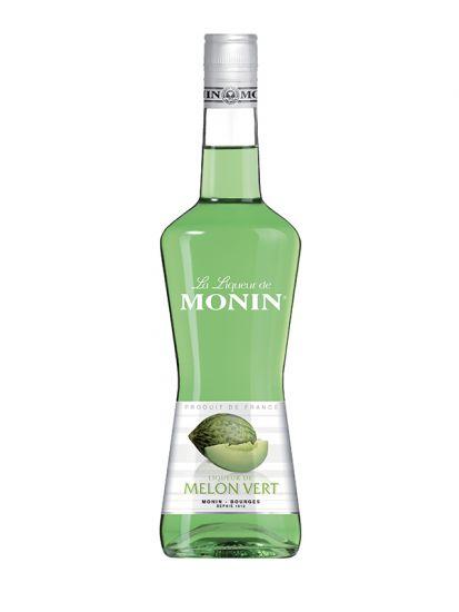 Monin Green Melon 20% - melounový likér 0,7 L - 1