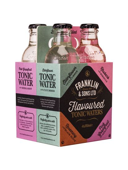Franklin & Sons 4pack Mix Tonic Water 4x 0,20 L - 1