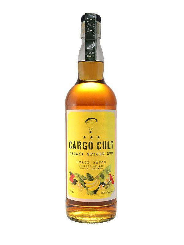 Cargo Cult Banana Spiced Rum 38% 0,7 L - 1