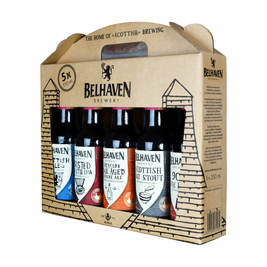 BELHAVEN Gift Box 5x0,33 L