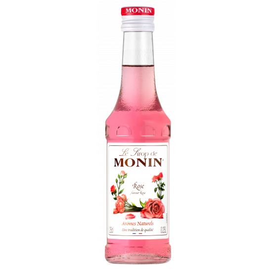 Monin Růže/Rose sirup 0,25 L