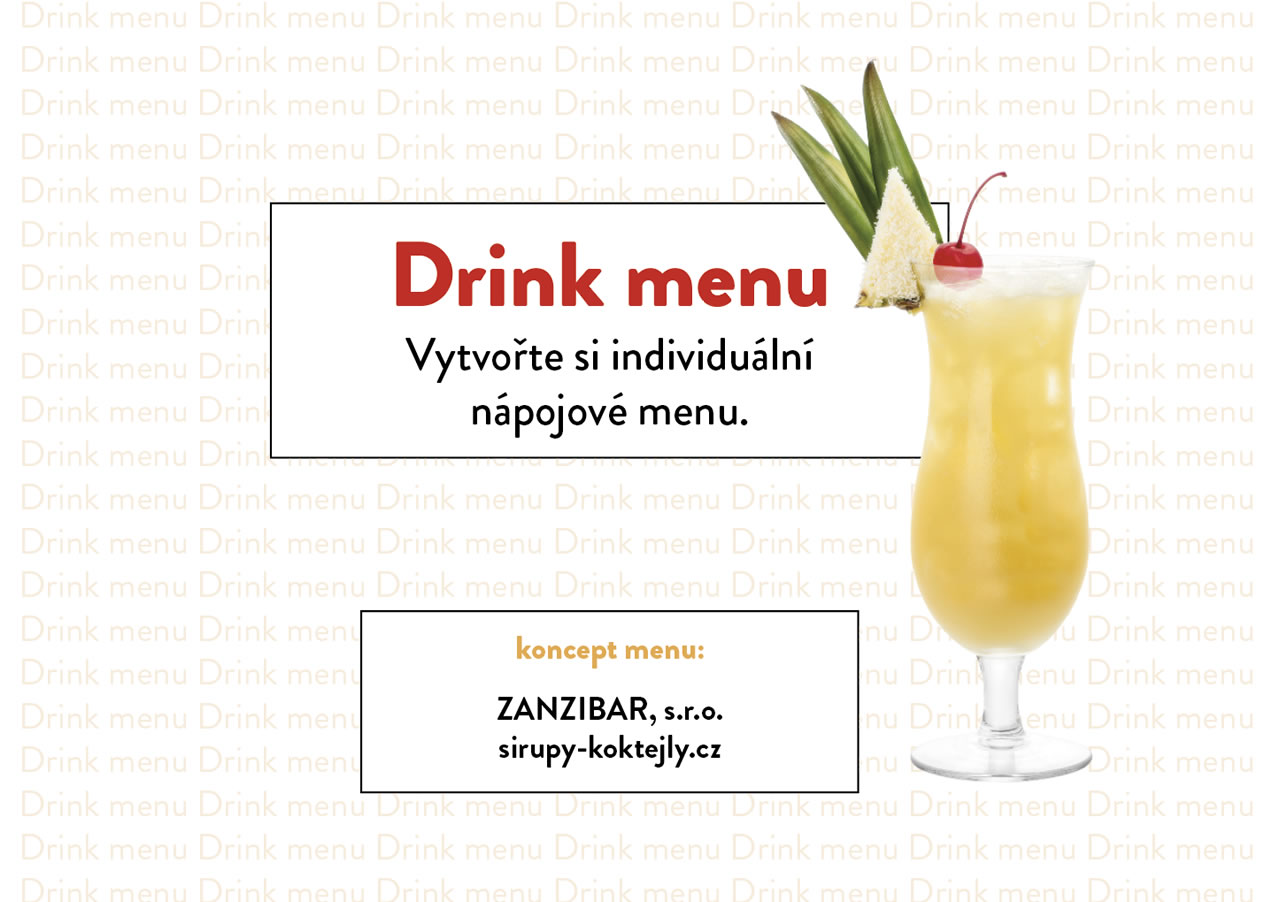 Drink menu test